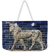 Babylon: Enamel Brick Bull Weekender Tote Bag