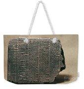 Babylonian Calendar Weekender Tote Bag