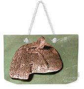Babylonian Cuneiform Weekender Tote Bag