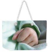 Baby's Hand Weekender Tote Bag