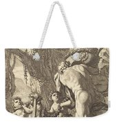 Bacchanal With Figures Carrying A Vase Weekender Tote Bag