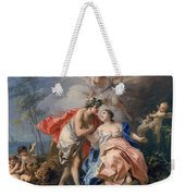 Bacchus And Ariadne Weekender Tote Bag