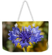 Bachelor Button Weekender Tote Bag
