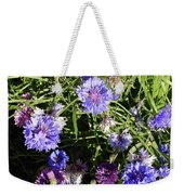 Bachelor Buttons-1 Weekender Tote Bag