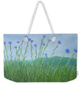 Bachelor Buttons Weekender Tote Bag