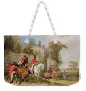 Bachelor's Hall - The Meet Weekender Tote Bag by Francis Calcraft Turner
