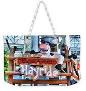 Back At The Barnyard Hayride Weekender Tote Bag