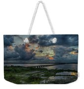 Back Bay Sunrise Weekender Tote Bag