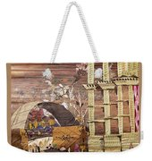 Back Entry Weekender Tote Bag