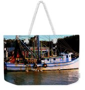 Back From A Long Day At Sea Weekender Tote Bag