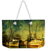 Back Home In The Harbor Weekender Tote Bag