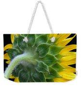 Back Of Sunflower Weekender Tote Bag