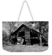 Back On The Farm Black And White Weekender Tote Bag