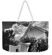 Back Porch Rocking Chair Weekender Tote Bag
