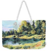 Back River Solitude Weekender Tote Bag