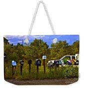 Back Road Mailboxes Weekender Tote Bag