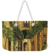 Back Street In Italy Weekender Tote Bag
