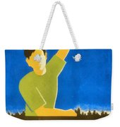 Back To Books Weekender Tote Bag
