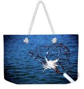 Back To The Bay Blue Crab Weekender Tote Bag