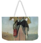 Back To The Holy Trinity 1870 Q D 25h19 Pm 7 Tg Vasily Perov Weekender Tote Bag