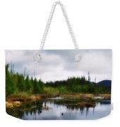 Backcountry Lake - Adirondacks Weekender Tote Bag