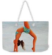 Backflip At The Beach Weekender Tote Bag