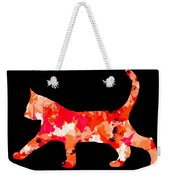 Background Colour Choice Cat Weekender Tote Bag