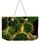 Backlit Cacti Weekender Tote Bag