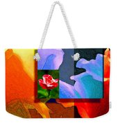 Backlit Roses Weekender Tote Bag