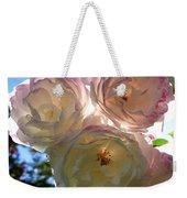 Backlit Roses Weekender Tote Bag