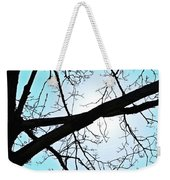 Backlit Tree Weekender Tote Bag