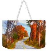 Backroads Vermont Weekender Tote Bag