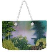Backwoods Mist Weekender Tote Bag