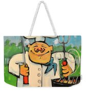 Backyard Bistro Weekender Tote Bag