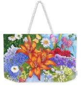 Backyard Bouquet Weekender Tote Bag