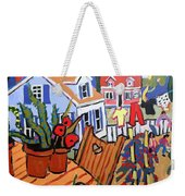 Backyard Weekender Tote Bag