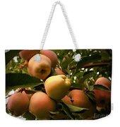 Backyard Garden Series - Apples Cluster Weekender Tote Bag