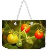 Backyard Garden Series - Cherry Tomatoes Weekender Tote Bag