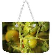 Backyard Garden Series - Green Cherry Tomatoes Weekender Tote Bag