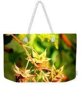 Backyard Garden Series - One Ripe Raspberry Weekender Tote Bag