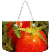 Backyard Garden Series - Roma Tomatoes Weekender Tote Bag