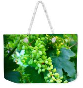 Backyard Garden Series - Young Grapes Weekender Tote Bag