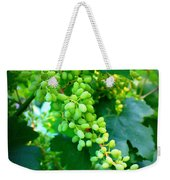 Backyard Garden Series - Young Grapes Weekender Tote Bag by Carol Groenen