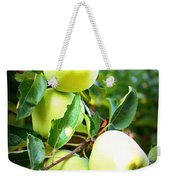 Backyard Garden Series- Golden Delicious Apples Weekender Tote Bag