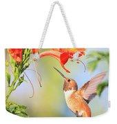 Backyard Hummingbird Series # 54 Weekender Tote Bag