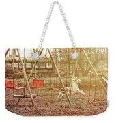 Backyard Play Weekender Tote Bag