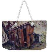 Backyard Shed Weekender Tote Bag