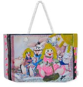 Bad Bunnies Weekender Tote Bag