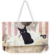 Bad Cat I Weekender Tote Bag