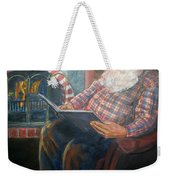 Bad Rudolph Weekender Tote Bag